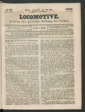 Locomotive vom 30.05.1848