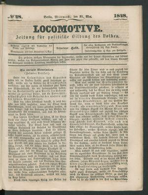 Locomotive vom 31.05.1848