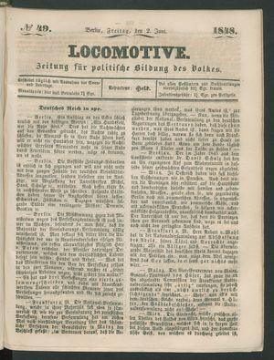 Locomotive on Jun 2, 1848