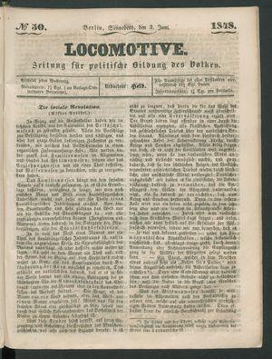 Locomotive vom 03.06.1848