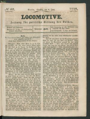 Locomotive vom 06.06.1848