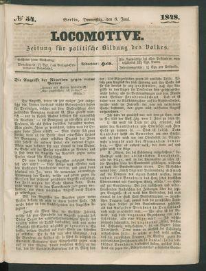 Locomotive vom 08.06.1848