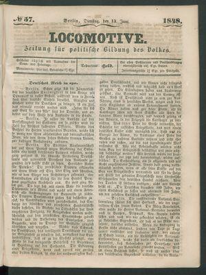 Locomotive vom 13.06.1848