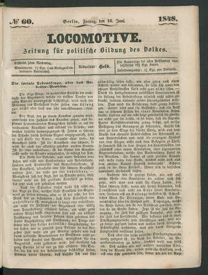 Locomotive vom 16.06.1848