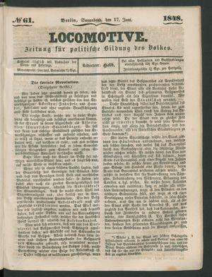 Locomotive vom 17.06.1848