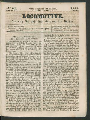 Locomotive on Jun 19, 1848