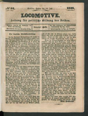 Locomotive vom 14.07.1848