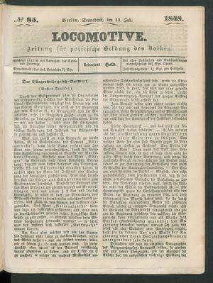 Locomotive vom 15.07.1848