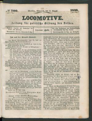 Locomotive vom 02.08.1848