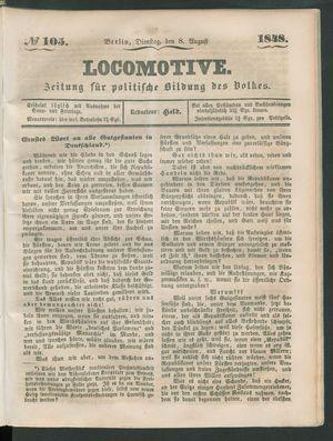 Locomotive vom 08.08.1848