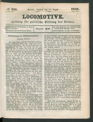 Locomotive vom 15.08.1848