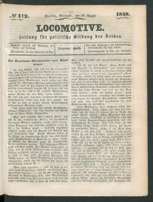 Locomotive vom 16.08.1848
