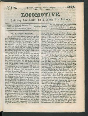 Locomotive vom 21.08.1848