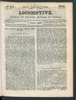 Locomotive vom 22.08.1848