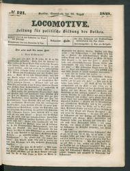 Locomotive : Zeitung für politische Bildung des Volkes
