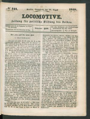 Locomotive vom 26.08.1848