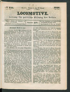 Locomotive vom 30.08.1848
