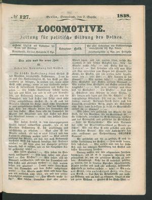 Locomotive on Sep 2, 1848