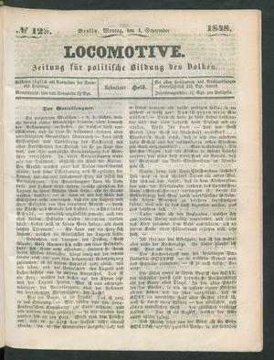 Locomotive vom 04.09.1848