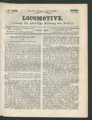 Locomotive vom 05.09.1848