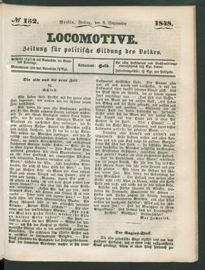 Locomotive vom 08.09.1848