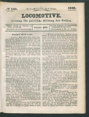 Locomotive vom 09.09.1848