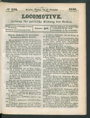 Locomotive vom 11.09.1848