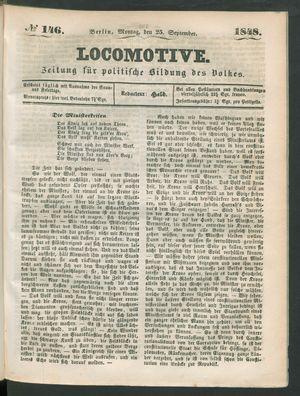 Locomotive vom 25.09.1848