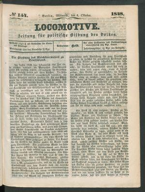 Locomotive vom 04.10.1848