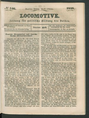 Locomotive vom 06.10.1848