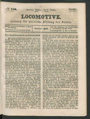 Locomotive vom 09.10.1848