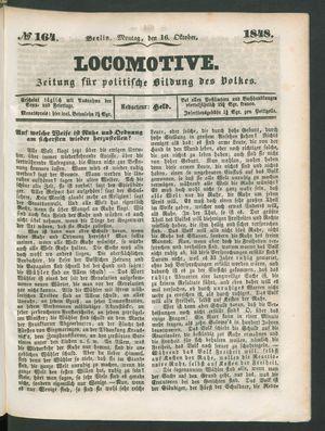 Locomotive on Oct 16, 1848