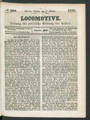 Locomotive on Oct 17, 1848