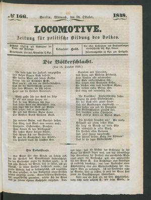 Locomotive vom 18.10.1848
