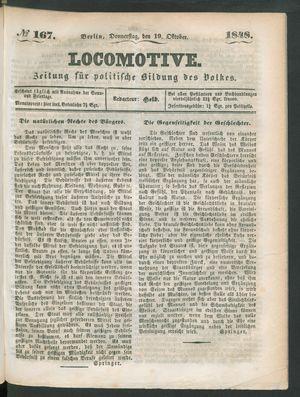 Locomotive vom 19.10.1848