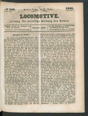 Locomotive vom 20.10.1848