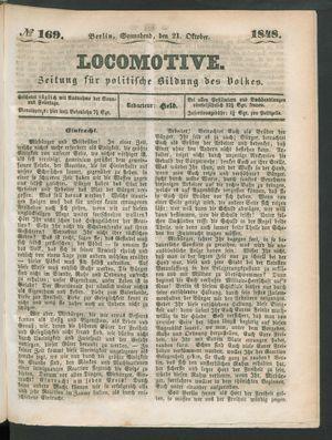 Locomotive vom 21.10.1848