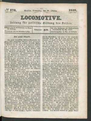 Locomotive vom 26.10.1848