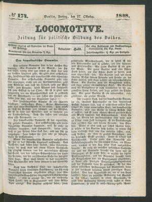 Locomotive vom 27.10.1848