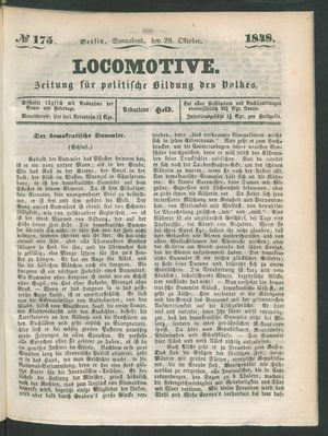 Locomotive vom 28.10.1848