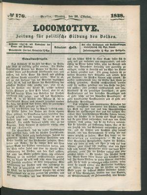 Locomotive vom 30.10.1848
