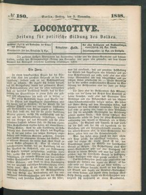 Locomotive vom 03.11.1848
