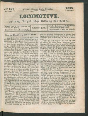 Locomotive vom 06.11.1848