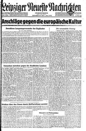 Leipziger neueste Nachrichten und Handelszeitung  vom 01.07.1943
