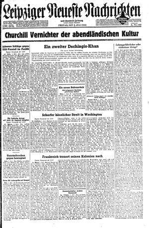 Leipziger neueste Nachrichten und Handelszeitung  vom 02.07.1943