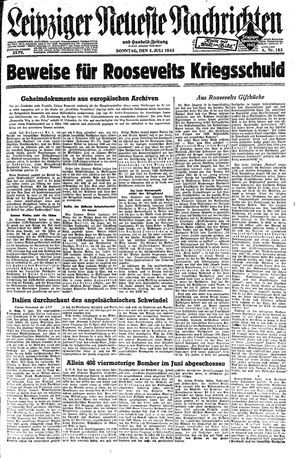 Leipziger neueste Nachrichten und Handelszeitung  vom 04.07.1943