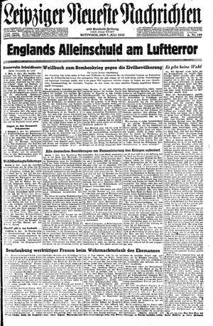 Leipziger neueste Nachrichten und Handelszeitung  on Jul 7, 1943