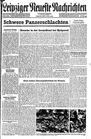Leipziger neueste Nachrichten und Handelszeitung  vom 09.07.1943