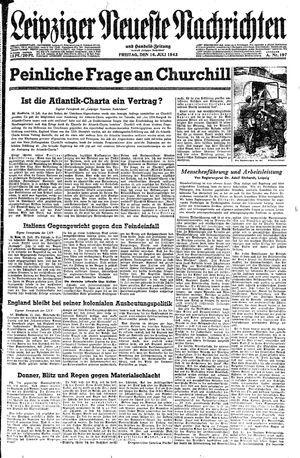 Leipziger neueste Nachrichten und Handelszeitung  on Jul 16, 1943