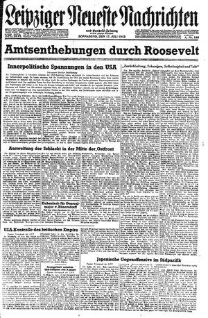 Leipziger neueste Nachrichten und Handelszeitung  vom 17.07.1943